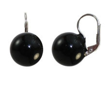 Picture of Ball earrings silver 925 MORM9115D14