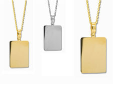 Picture of Plain Rectangle Pendants